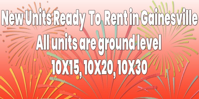 New Units to Rent