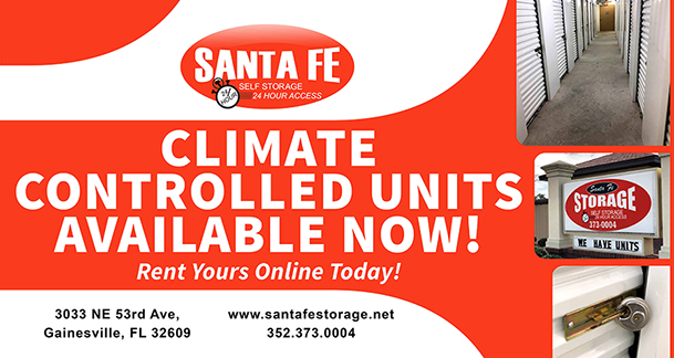 Gainesville Self Storage Climate Controlled ...